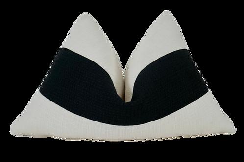 FI Gitano Ivory & Black Messina Pillow