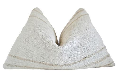 FI Camel Stripe Hemp Pillow
