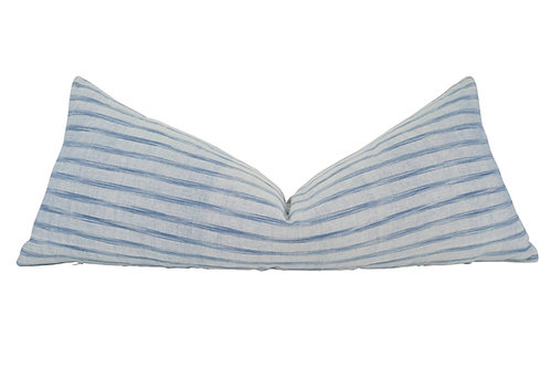 European Primitive-Loomed Body Pillow