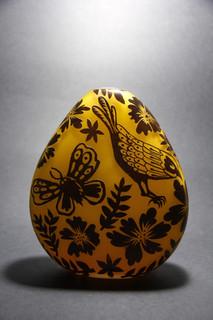 14 - Egg sculpture, 2nd side