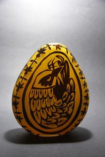 14 - Egg sculpture