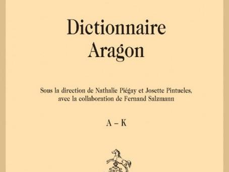 Parution du Dictionnaire Aragon