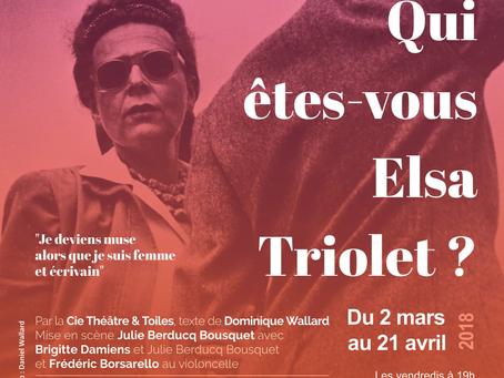 Qui êtes vous Elsa Triolet ?