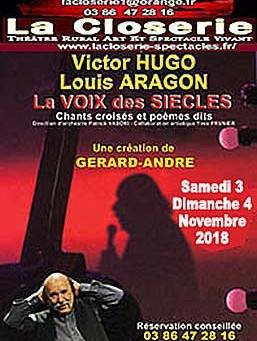 Aragon-Hugo, la voix des siècles