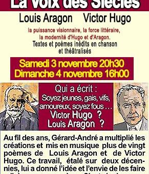 La Voix des Siècles, Louis Aragon, Victor Hugo