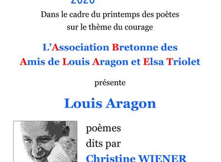 Le Printemps des poètes à Quimper