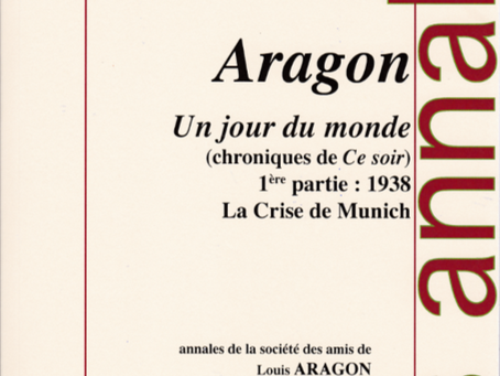 Aragon journaliste