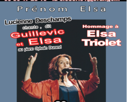 Hommage à Elsa Triolet