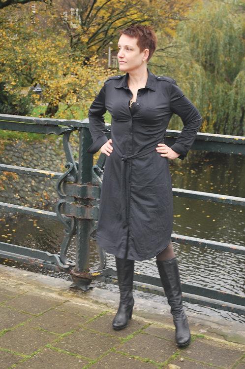 Travel stof jurk