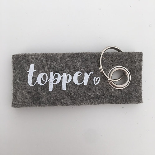 "Pimp your keycord""Topper"""