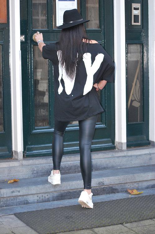 Love NY shirt zwart
