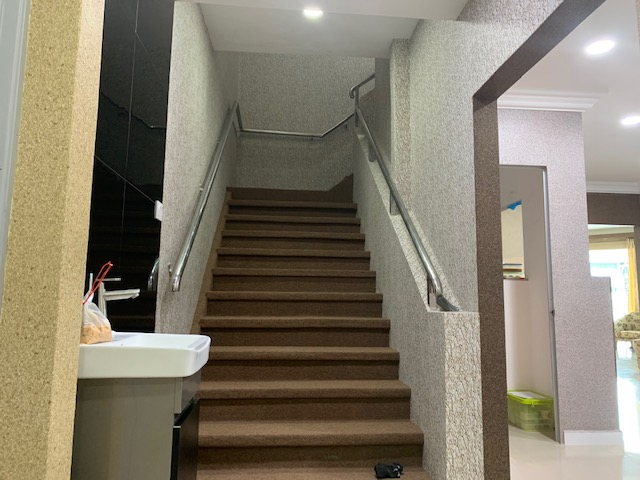 Staircase to 1st Floor Palliative Care