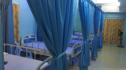 Multiple hospital beds in live in home