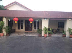 Front View of Nursing Home Care