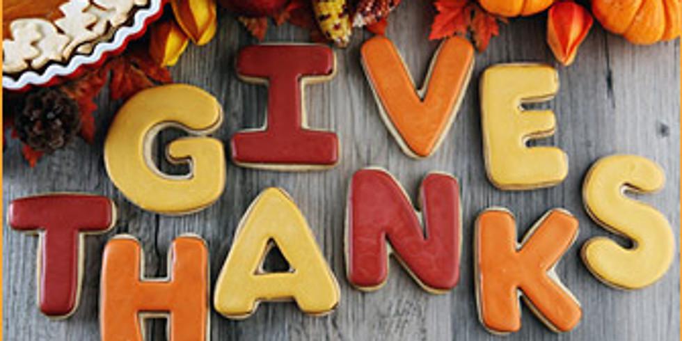 Teacher Thanksgiving Feast
