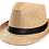 Thumbnail: Lot de 10 chapeaux en paille - cadeau mariage