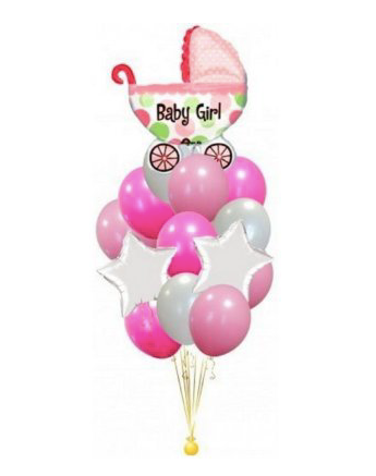 Lot de 13 ballons baby shower brit garçon fille