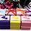 Thumbnail: Lot de 50 boites a dragees colorees - mariage