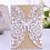 Thumbnail: Lot de 50 invitations faire-part mariage bat mitzvah