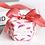 Thumbnail: Lot de 50 boites a dragees chic - mariage