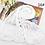 Thumbnail: Lot de 10 foulards femme - cadeau mariage