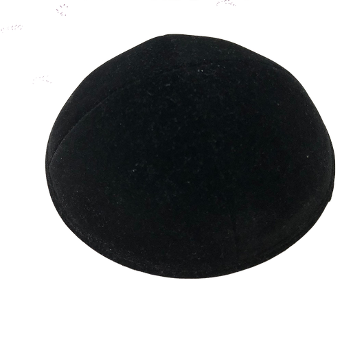 Lot de 100 kippas velours noir