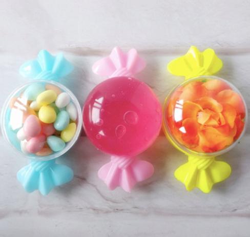 Lot de 12 boites a bonbons - brit mila, baby shower