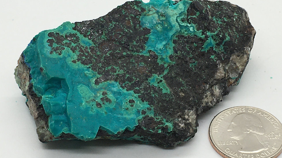 Chrysocolla from New Mexico