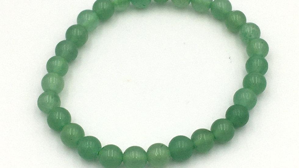 Green Aventurine Bracelet with 6 mm Beads