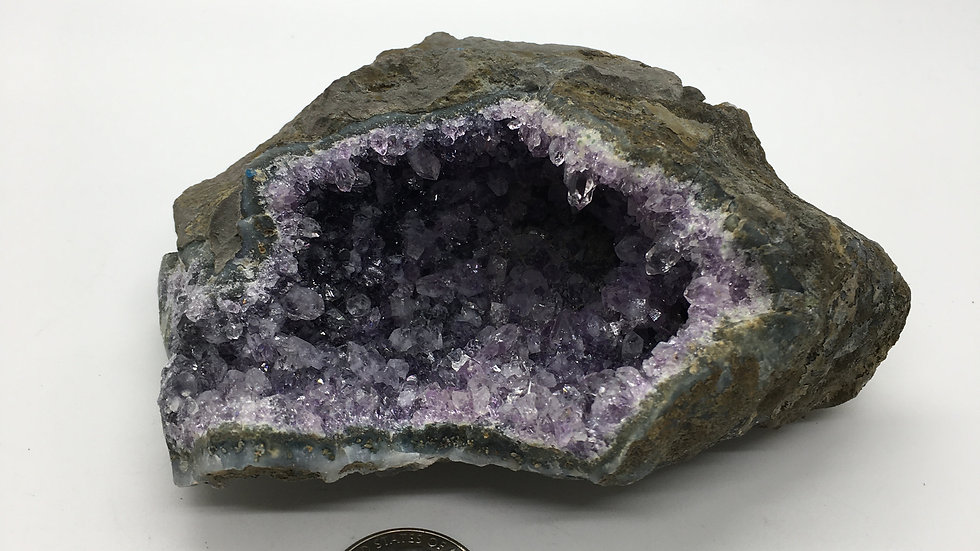 Amethyst Geode Cluster From Brazil