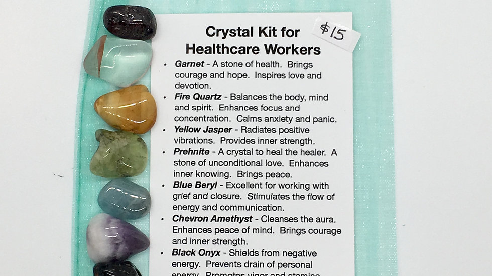 Crystal Kit for Healthcare Workers