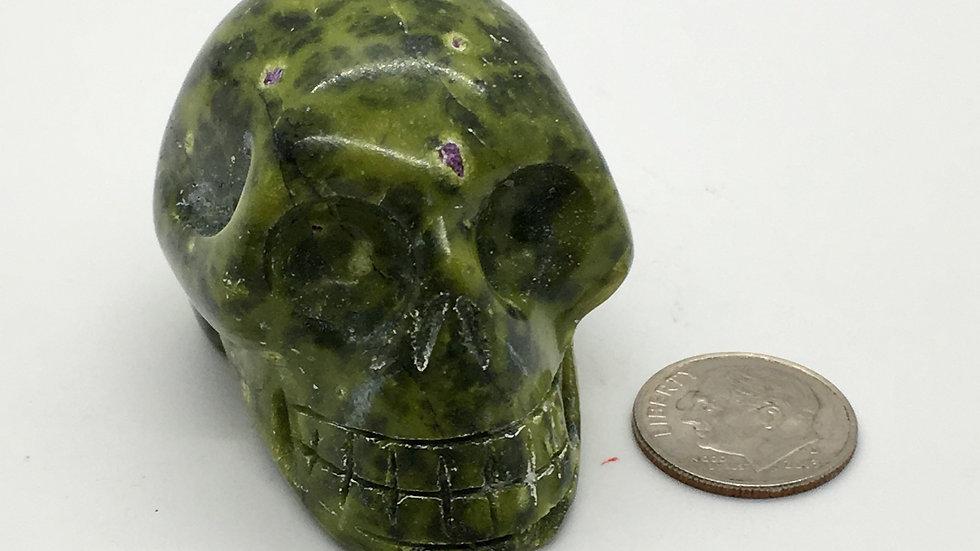 """Atlantasite 2"""" Skull"""