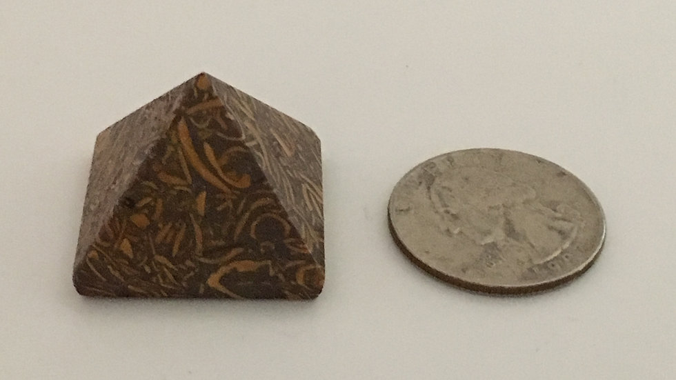Arabic Stone Mini Pyramid