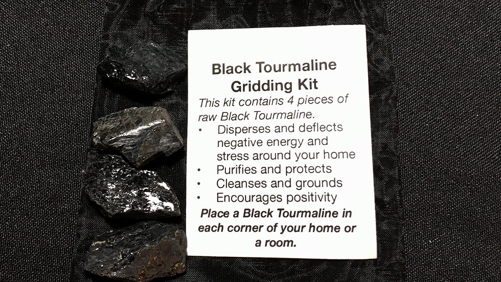 Black Tourmaline Gridding Kit