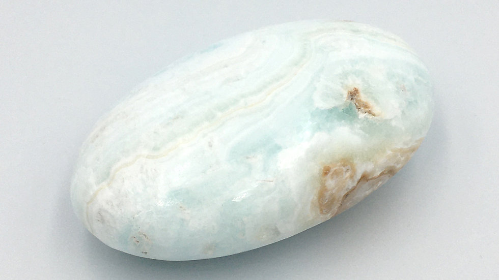 Caribbean Calcite Palm Stone