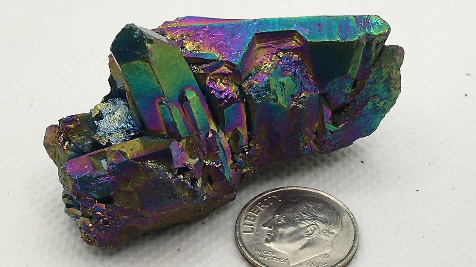 Titanium Aura Quartz
