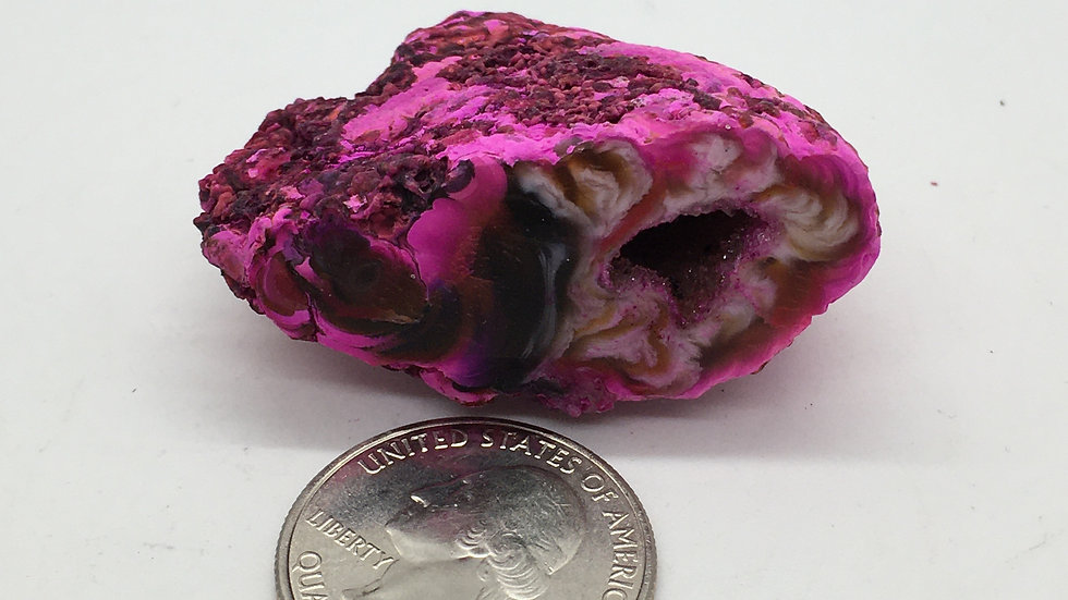 Pink Agate Geode