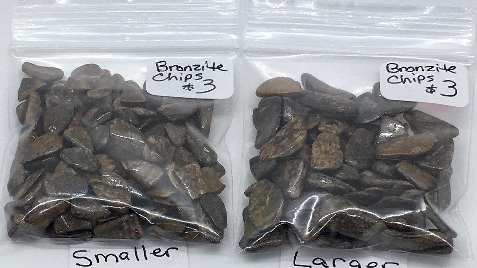 Bronzite Chips
