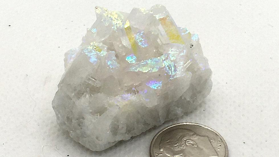 Angel Aura Quartz Cluster