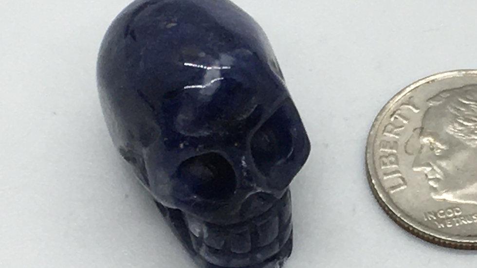 Sodalite Baby Skull