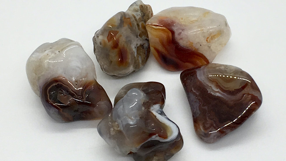Fire Agate from Mexico