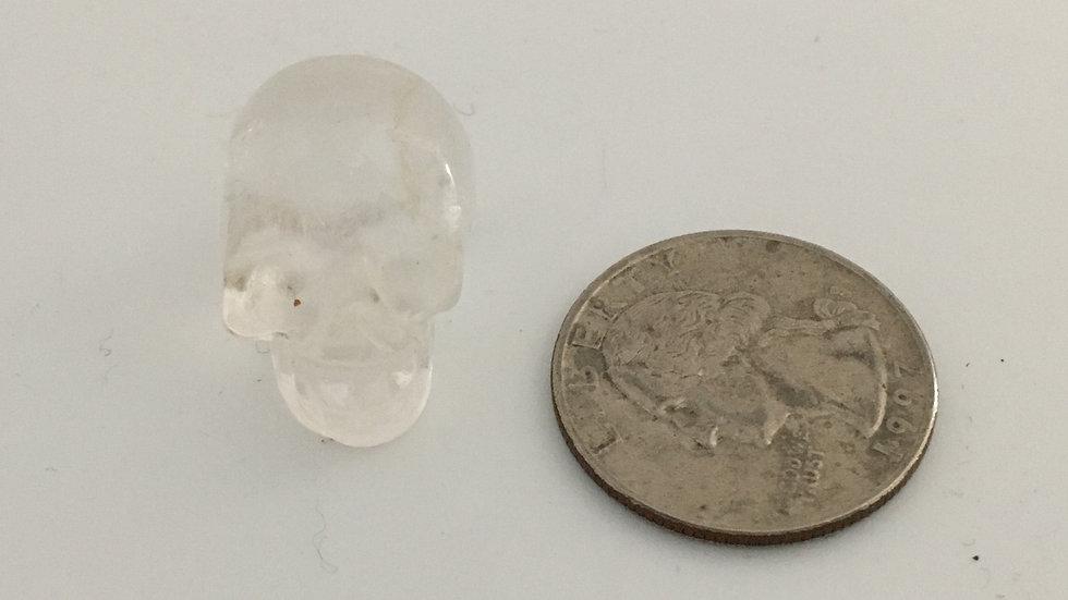 Clear Quartz Baby Skull