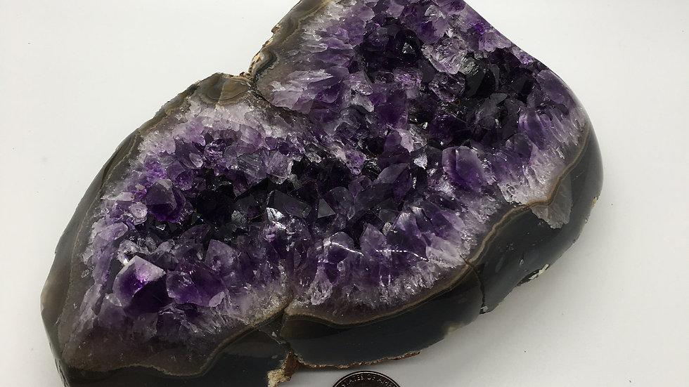 Amethyst Cluster from Uruguay