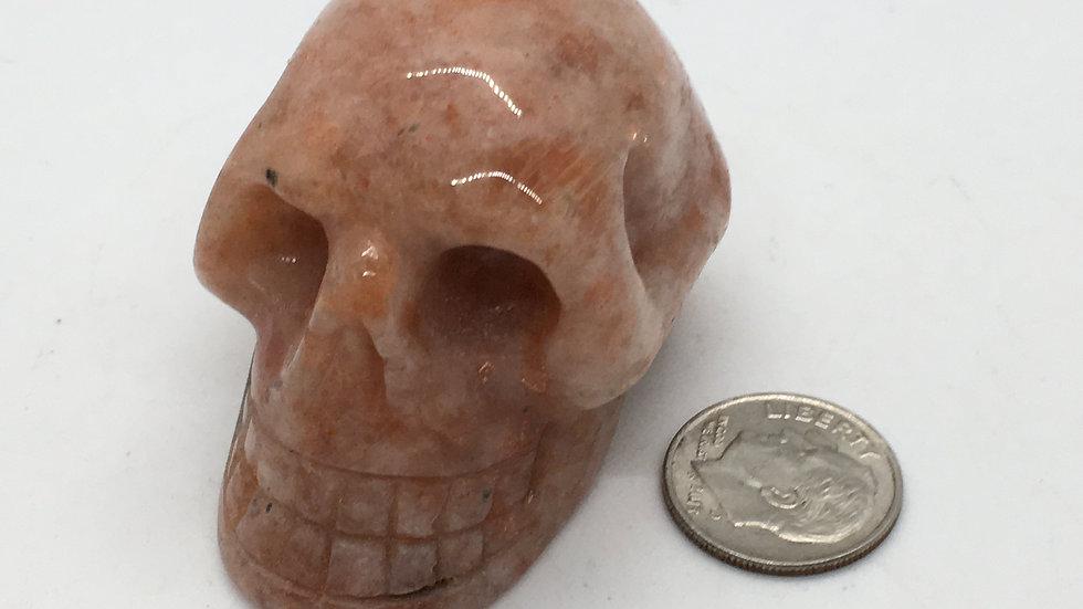 """Sunstone 2"""" Skull"""