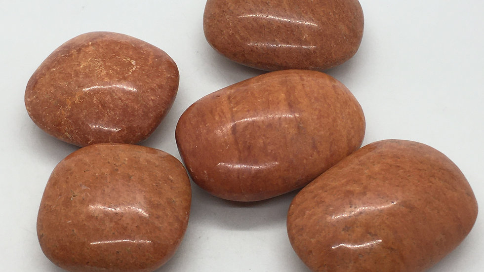 Sedona Red Jasper Palm Stone
