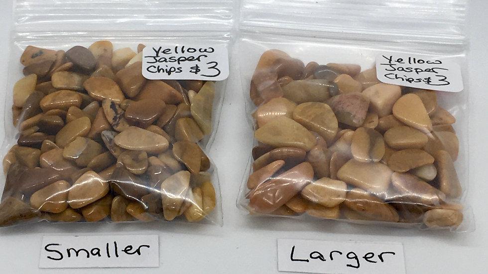 Yellow Jasper Chips