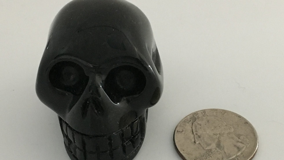 """Hypersthene 2"""" Skull"""