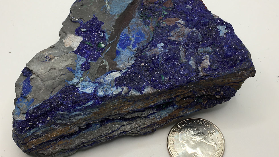 Azurite from the Congo