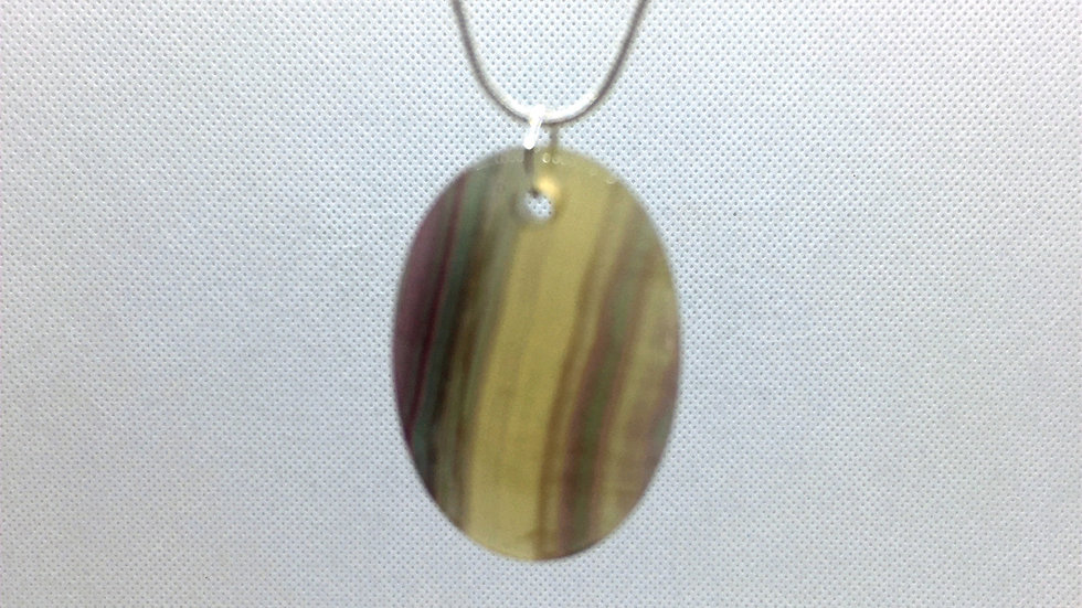 Fluorite (From Argentina) Necklace