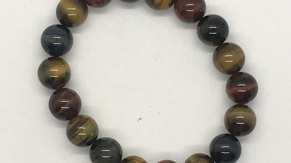 Tiger Eye Mix with 10 mm beads